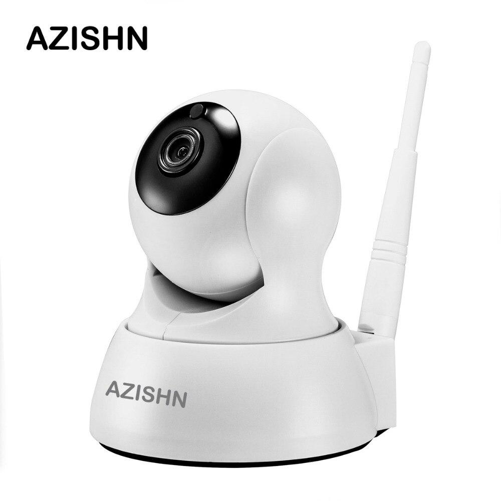 AZISHN Accueil de Sécurité IP Caméra Wi-Fi 720 p Sans Fil Caméra Réseau CCTV Caméra de Surveillance P2P Nuit Vision Baby Monitor