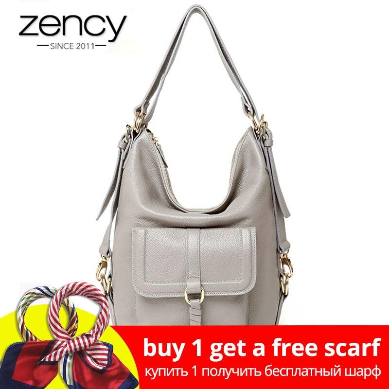 Zency модные женские туфли сумка 100% пояса из натуральной кожи большой ёмкость сумки многоцелевой применение Crossbody Кошелек