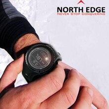 Мужская спорт Цифровые часы Часов Бег Плавание часы Высотомер Барометр Компас Термометр Погода Цифровой Шагомер Смотреть