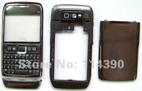New Housing Faceplate Cover Case + Keypad Keyboard Fit For Nokia E71 & Open Tools
