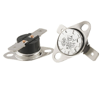 WSFS Hot Sale 5 x KSD301 NC Thermostat Temperature Control Switch 105 Celsius 250V 10A