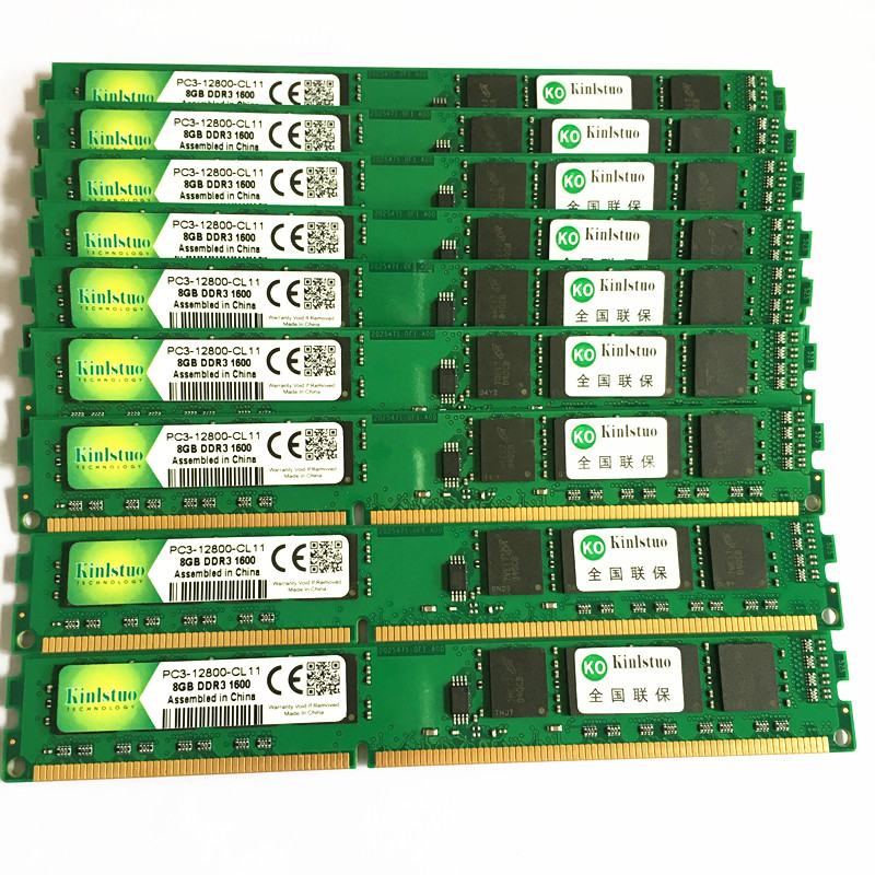 Kinlstuo nouveau DDR3 8 GB 1600 MHz mémoire ordinateur de bureau DIMM vendre ddr3 1333 MHz 8 gb rams