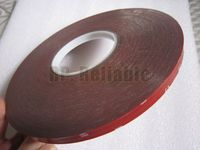 10mm 3 Meters 0 8mm Grey Acrylic Glue Double Sided Sticky Foam Tape For Car Auto