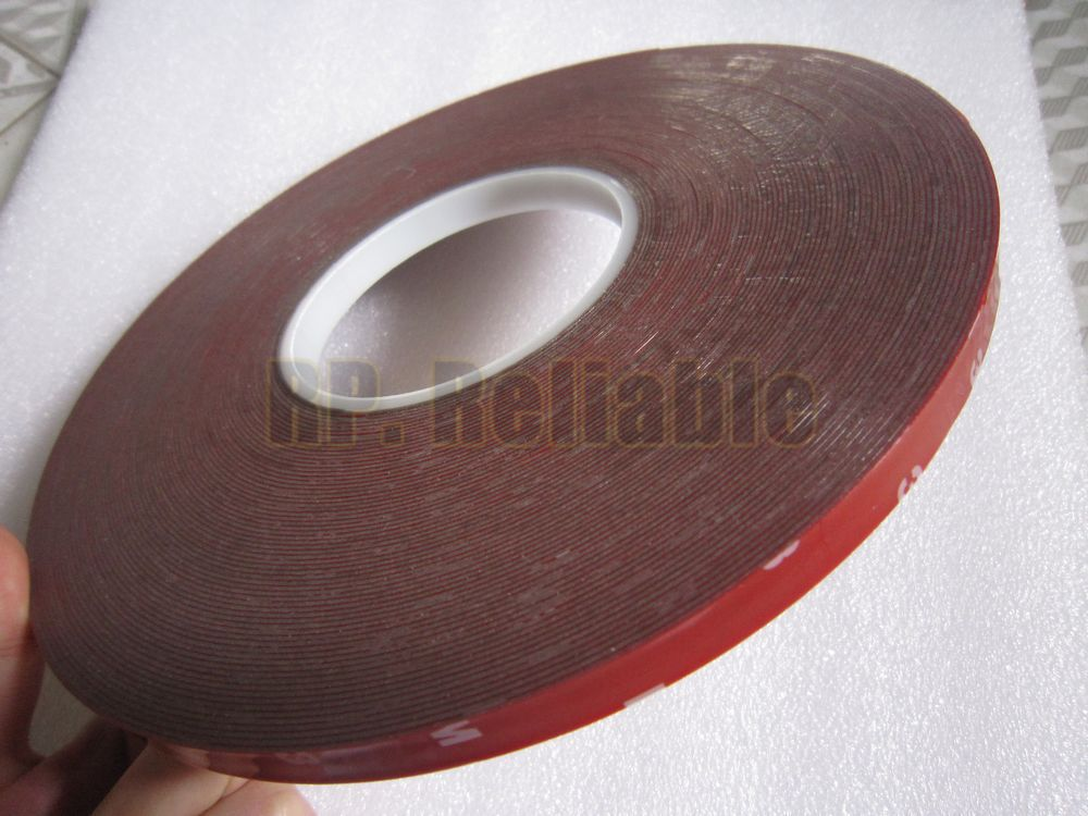 0.8mm Thick, 10mm~50mm Choose Grey Acrylic Glue Double Sided Sticky Foam Tape for Car Auto Truck Parts Marble, Seal Strip Attach 0 5mm thick 5 rolls 8mm 33meters transparent double adhesive acrylic glue tape for car strip glass joint