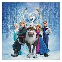 5D DIY Diamond Painting Frozen Princess Disney Kid Birthday Gift Wall Art Kit Child Room Decor D012