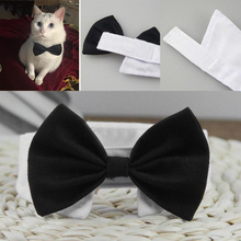Регулируемый ошейник для домашних животных, собак, галстук-бабочка для кота, костюм для домашних животных, ошейник для маленьких собак, аксессуары для ухода за щенком