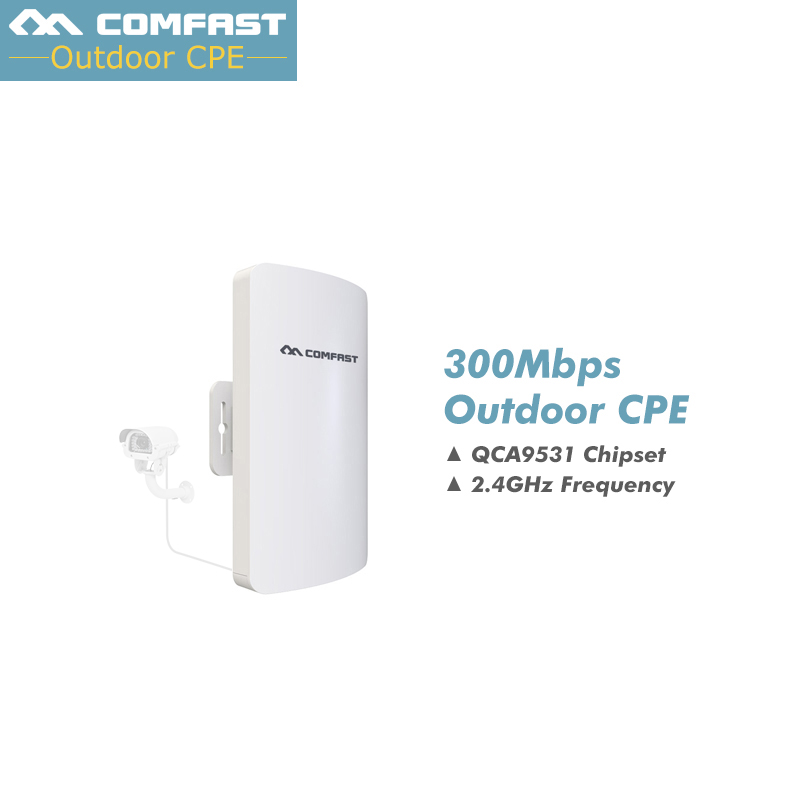 3KM 2.4GHz Wireless Outdoor CPE Bridge 300Mbps AP Router Access Point 200mW WIFI Repeater Extender Support 24V PoE 11dBi Antenna 5pc mini cpe wifi router wireless outdoor ap router wifi repeater 300mbps 11dbi extender access point bridge client router poe