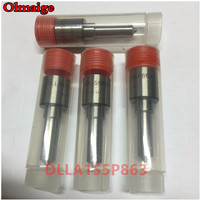 4pcs quality Common rail Diesel fuel injector spray nozzle DLLA155P863 DLLA155 P863 fuel injector nozzle 093400 8630