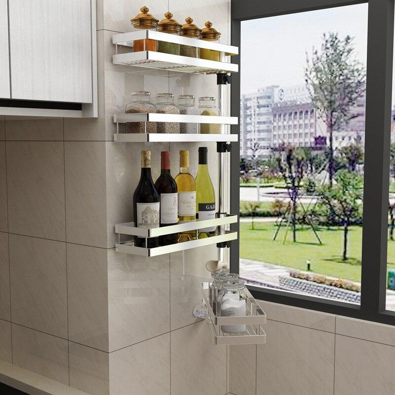 Corner Spice Rack: Countertop 2 Tier Spice Rack,Kitchen Rack Organizer,wall