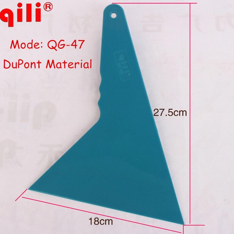 50pcs/lot DHL Free QILI QG-47 Plastic Scraper Tools Dupont Scraper Vinly Car Wrap Tools Window tint film remove Scraper Blade