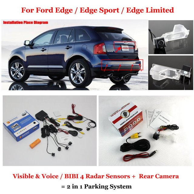 Liislee For Ford Edge Edge Sport Limited Car Parking Sensors Rear View