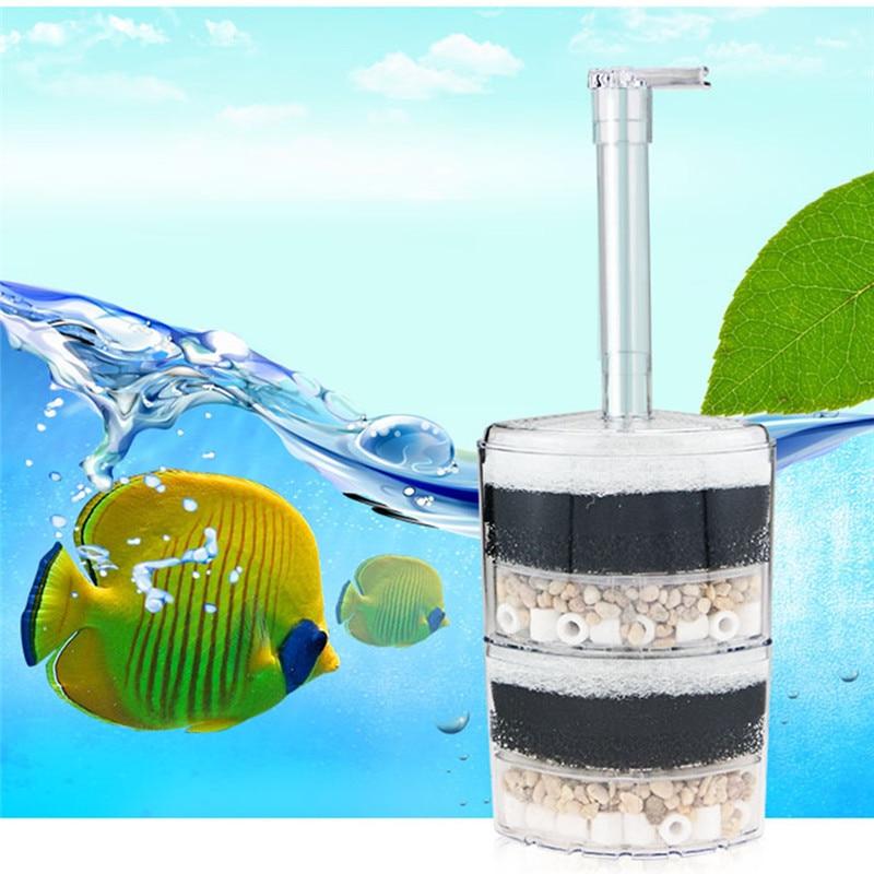 Multi-camada Canto Pneumático Filtro Do Tanque de Peixes Do Tanque de Peixes Super Pneumática Filtro Bioquímico