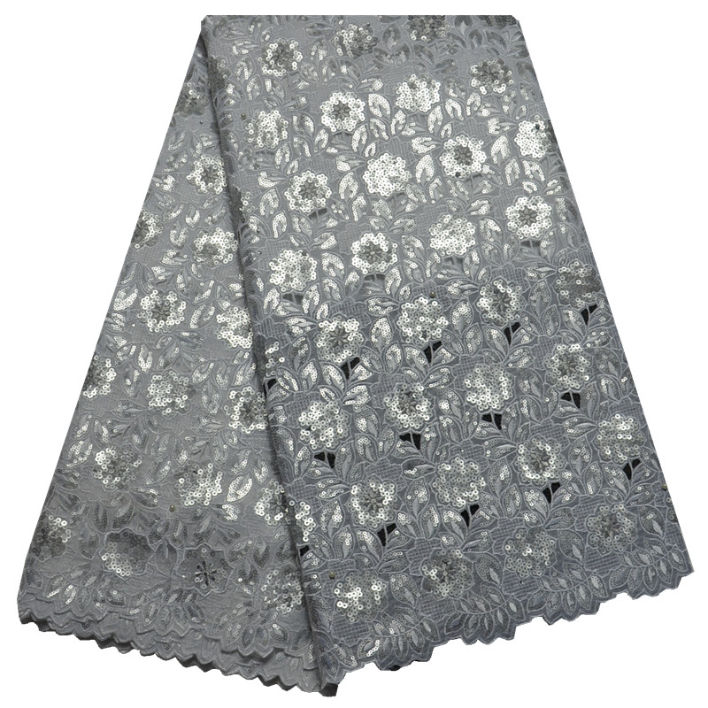 Wholesale Embroidery Designs High Class African Cord Lace Organza