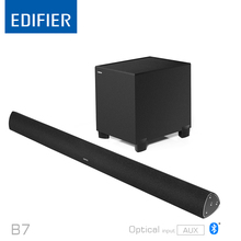 Original Edifier CineSound B7 Media Speaker for TV and Living Rooms with Bluetooth,optical and AUX input