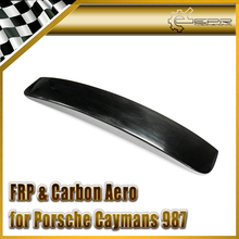 Car-styling FRP Fiber Glass EPA Style Roof Spoiler Fit For Porsche 2006-2012 Caymans 987 Boxster S