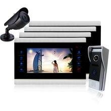 Homefong 10 Inch Video Door Phone Doorphone Doorbell Kit Night Vision Door Camera Video Intercom