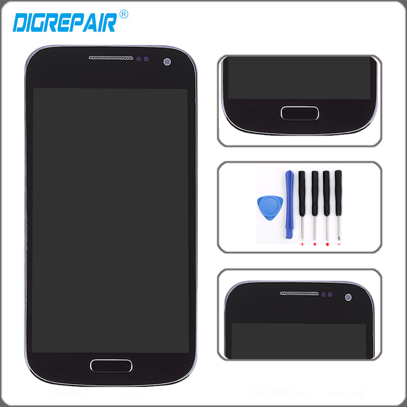 blue for samsung galaxy s4 mini i9190 i9195 lcd display. Black Bedroom Furniture Sets. Home Design Ideas