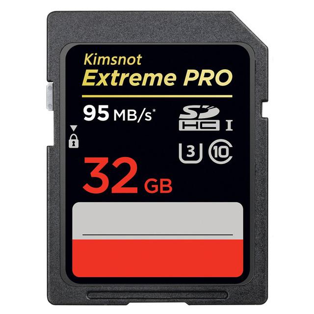 Kimsnot extreme pro 32 gb cartão sdhc de 16 gb 64 gb 128 gb 256 gb flash Cartão de memória Classe 10 SDXC UHS-1 Cartão SD C10 95 MB/s 633x/U3