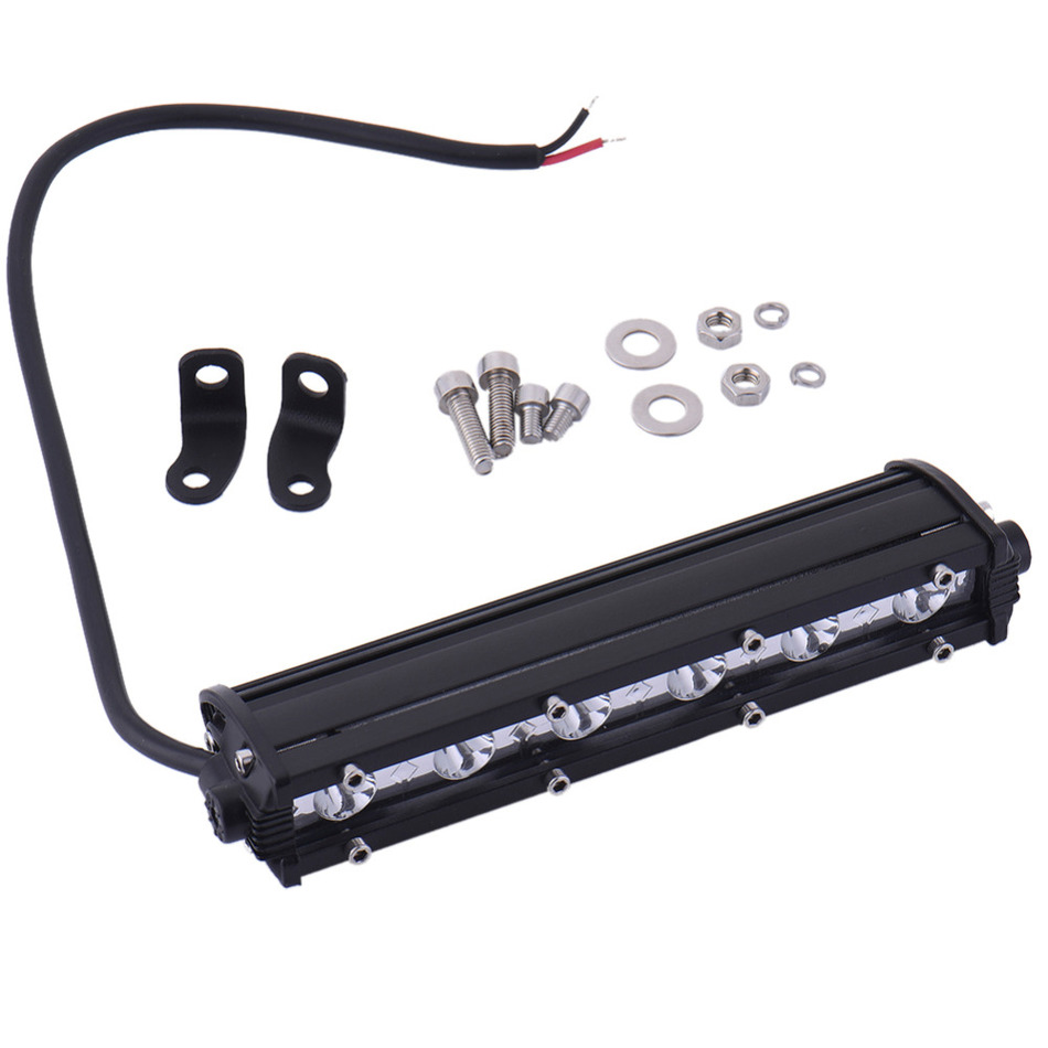 Multi-function Off-road Car Lights LED Strip Work Lights Motorcycle Lamps Daytime Running Light