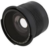 JINTU 52mm 0.35x HD Pro Macro Fisheye Wide Angle Lens for Nikon D5500 D5600 D7500 D7200 D5200 D5300 D90 D3400 D3500 D60 Camera