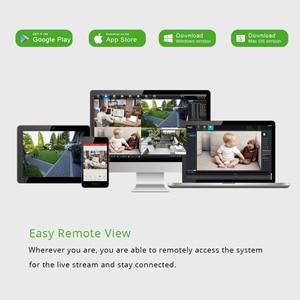 Image 5 - スマート 4ch 5MP POE IP カメラシステムキット H.265 セキュリティと 8ch POE Nvr 屋外防水 CCTV カム警報ビデオ p2P グラム。職人
