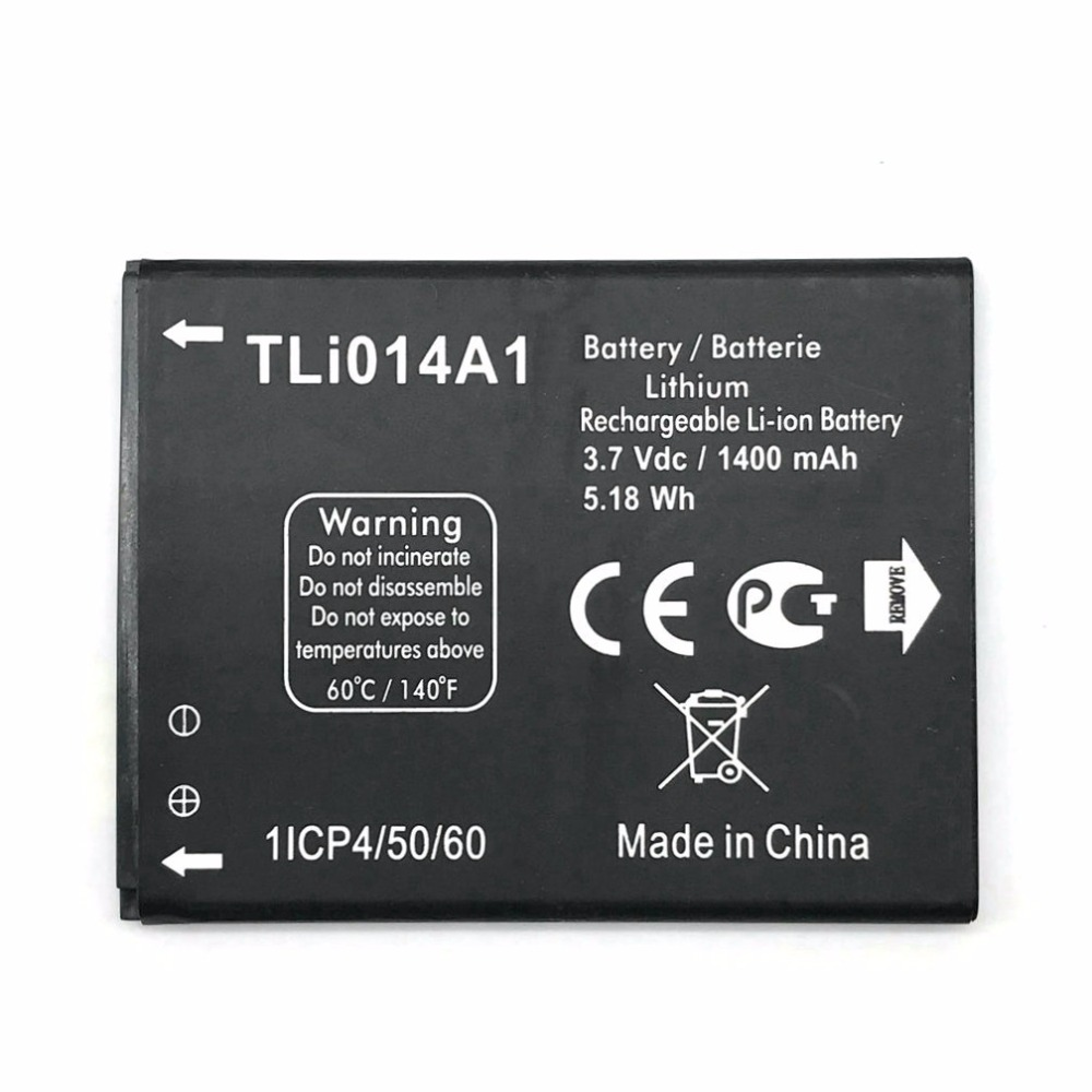 1pcs charger + 2pcs New Tli014a1 1400mAh Battery for