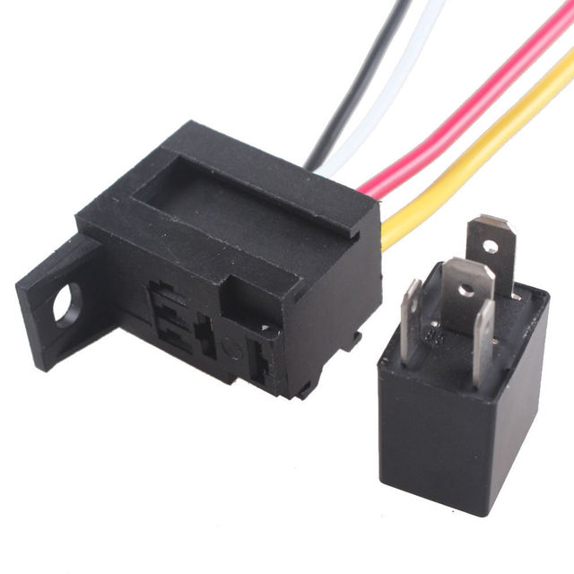 e support e support 5 x car 30a amp 12v relay kit spst for fan fuele support e support 5 x car 30a amp 12v relay kit spst for fan fuel pump light horn 4pin 4 wire universal car styling xy01 xy01