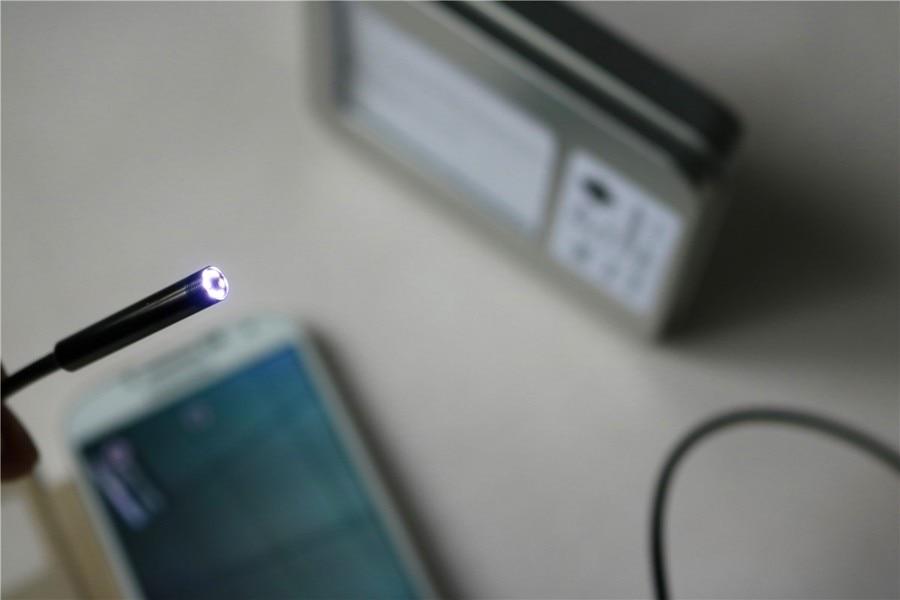 2016 הגעה חדשה קווי Mini Android PC אנדוסקופ ניטור מצלמה אור LED תומך OTG IP66 עמיד למים עבור טלפון אנדרואיד orPC