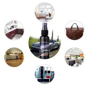 Image 3 - 50ml Otomatik Boya Cilası Hidrofobik Kaplama Araba Iç Deri Koltuk Cam Plastik Bakım Temiz Deterjan Refurbisher