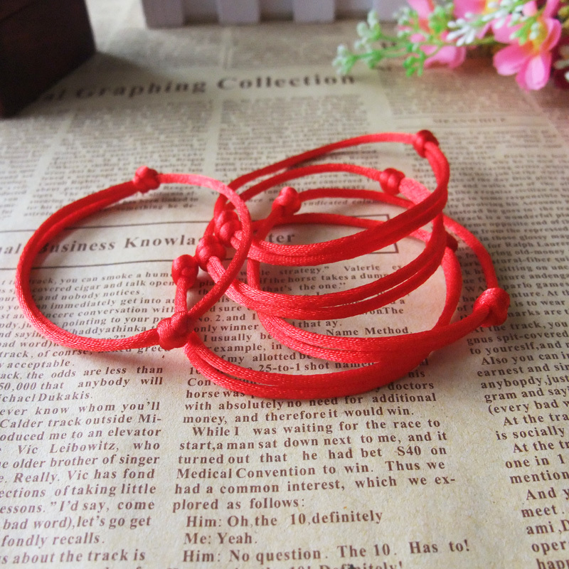 kabbalah hilo rojo pulsera