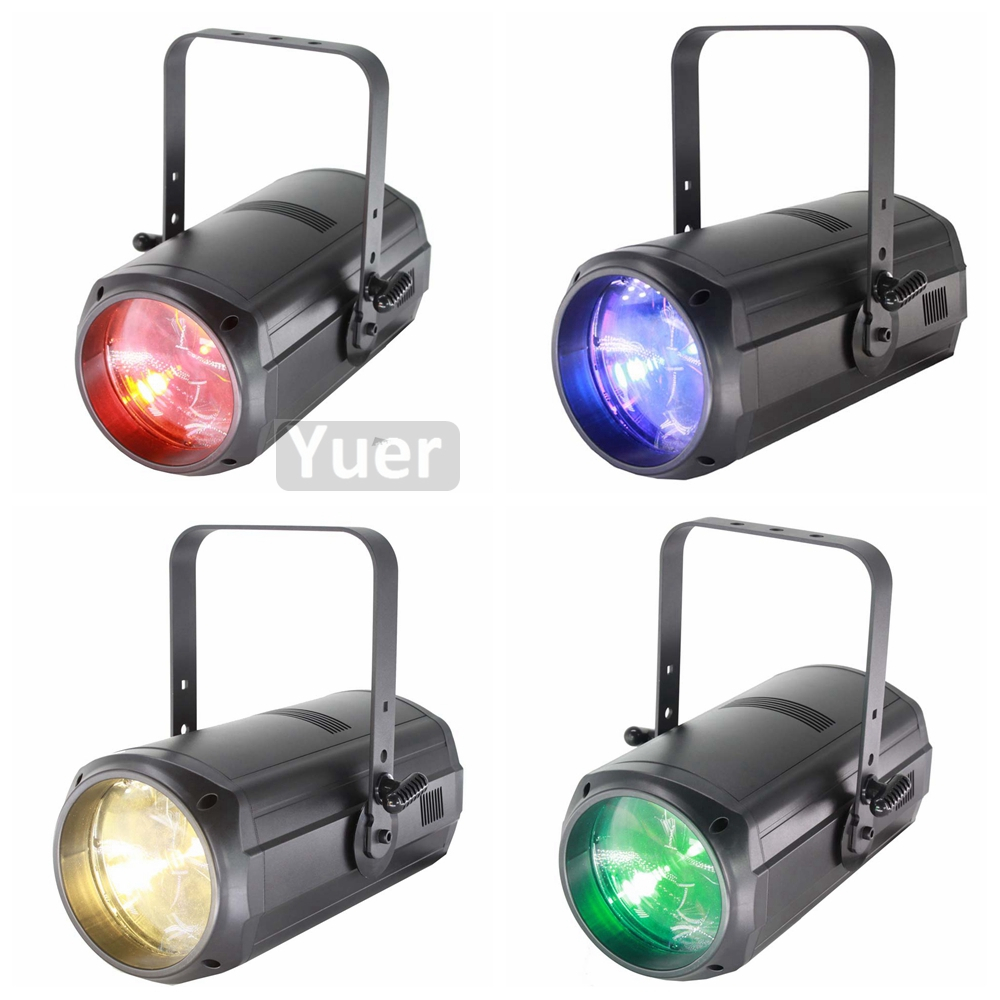 NEW Music Stage Effect Lighting 200W COB Par Light Zoom Angle 15 16 Degree DMX512 Professional Stage DJ Disco Party KTV Lights in Stage Lighting Effect from Lights Lighting