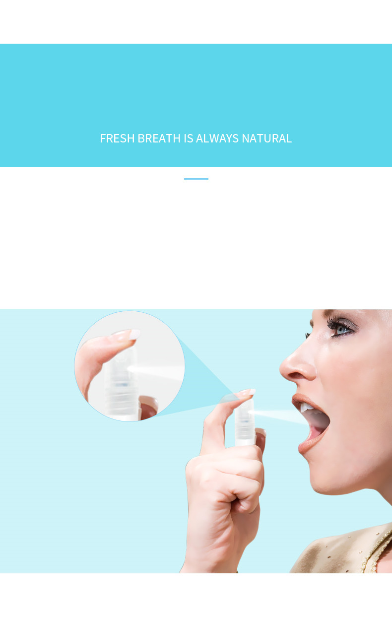 Mouth Spray Oral Spray Herbal Fresh Breath Remove Bad Breath