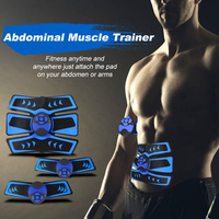 Abdominal Muscle Trainer Rechargeable Fitness Toner Belly Fitness Training Gear Leg Arm Muscle Toning Workout Equipment