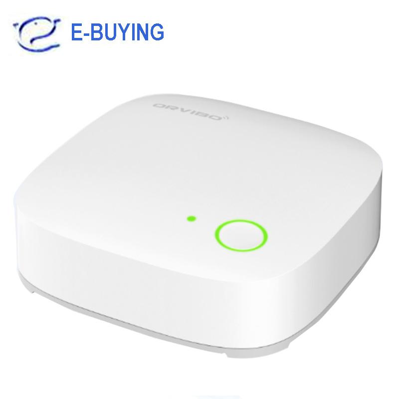 Prix pour 2016 Nouvelle Arrivée Orvibo Smart Home Contrôleur D'automatisation, ZigBee Smart Hub, Télécommande Sans Fil, Smart Home Hub via IOS Android