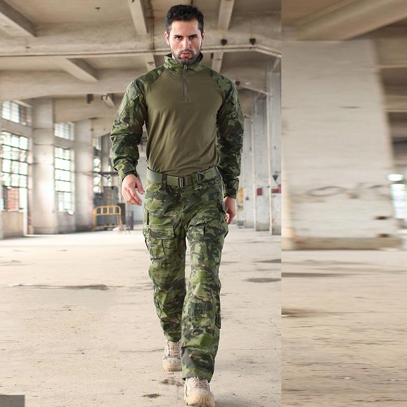 Taktinis karinio pertekliaus medvilnės python modelio dėvėjimosi - Sauga ir saugumas - Nuotrauka 3