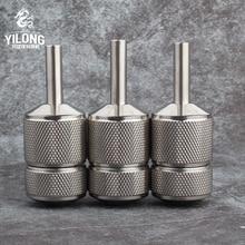 YILONG 30mm Stainless Steel Tattoo Grip 1pc Self-lock for Tattoo Machine Gun