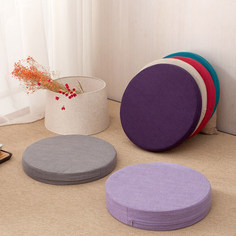 Tatami Cushion Chair Yoga Sponge Round Home-Decorative And Seat Mat Removable Washable