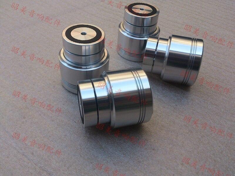4 pièces Maglev amplificateur pieds pointes de choc amortissement tapis diamètre: 53mm hauteur: 58mm