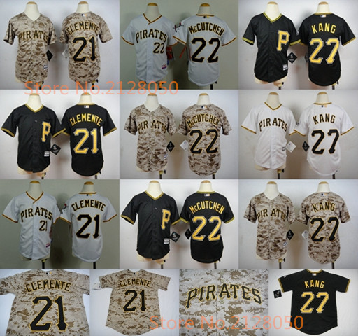 e46d908d where to buy pittsburgh pirates youth jerseys 22 andrew mccutchen 21  roberto clemente 27 jung ho