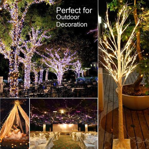 Led String Light 5/10M/20M 50/100/200LED USB 8ModeRemote Control Lights Fairy garlands for Wedding Christmas Holiday Decor lamps Multan