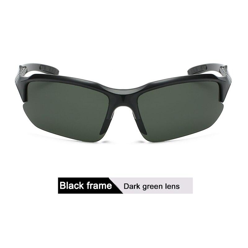 DONQL, поляризационные солнцезащитные очки для рыбалки, мужские спортивные очки для велоспорта, поляризационные линзы, UV400, очки для рыбалки, очки для ночного видения, женские - Цвет: 4
