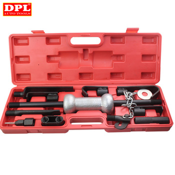 13PC Heavy Duty Dent Puller w/10lbs Slide Hammer Auto Body Truck Repair Tool Kit