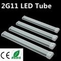 Melhor LED 2G11 2G11 Tubo de Luz LED 12 W 15 W 18 W 25 W SMD2835 Tampa Difuso AC85 Quente/Cool White Frete Grátis