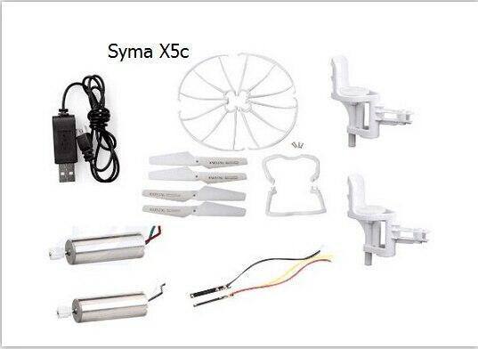 Syma X5c rc spare parts Quadcopter rc quadcoter