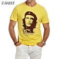 E-BAIHUI CHE GUEVARA summer o neck 3d print shirt men brand clothing cotton mens t shirts fashion 2016 hombre tops tee y033