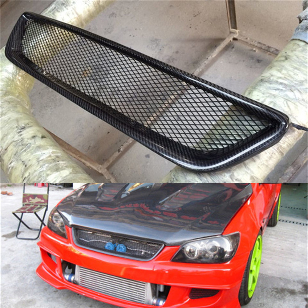 IS200 Carbon Fiber Front Grill Grille For Lexus IS200 1999-2004 Auto Car Styling