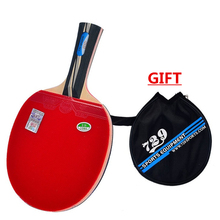 [Playa PingPong] RITC 729 Friendship 2040 Pips In Table Tennis Racket with Case for PingPong