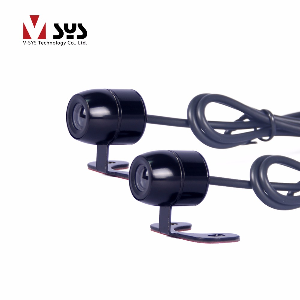 Motorcycle DVR spare accessory waterproof R1S VGA lens for V-sys C3 C6 C6L and T2 rear camera video recorder