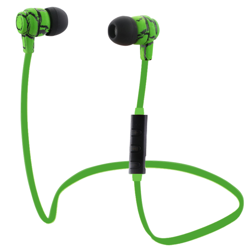 Earphone Bluetooth Headset Sport with Mic Wireless Stereo V4.0 Earbuds Handsfree For Samsung iPhone Sony PC Wireless Headphones high quality 2016 universal wireless bluetooth headset handsfree earphone for iphone samsung jun22