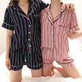 Onesie 2016 сладкий небольшой полосой печати пижамы с четкое и сладкий и теплый и сладкий